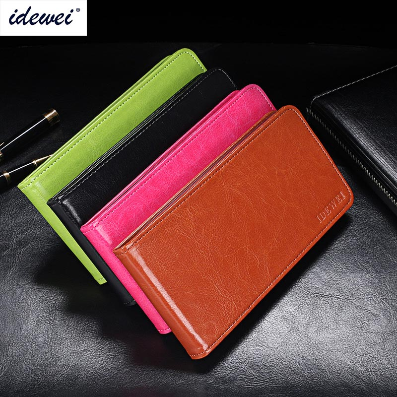 Fly IQ4415 Case Cover Luxury Leather Flip Case For Fly IQ4415 Era Style 3 Protective Phone Case Back Cover 4.5