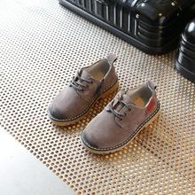 2019 primavera niños zapatos casuales niño cuero Deporte Zapatos hombre mujer moda Vintage cuero Martin botas bebé zapatillas