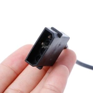 Image 5 - 30 см Внутренний ПК 5 в 2 контактный IDE Molex к USB 2,0 Тип A Женский адаптер питания кабель оптовой продажи и Прямая поставка