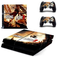 Game Dying Light PS4 Skin Sticker Decal Vinyl for Sony Playstation 4 Console and 2 Controllers PS4 Skin Sticker z33 light design protector skin decal sticker for ps3 playstation 3 body console