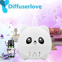 Diffuserlove 300ml Ultrasonic Air Humidifier Aroma Essential Oil Diffuser for Home Car USB Fogger Mist Maker with LED Night Lamp