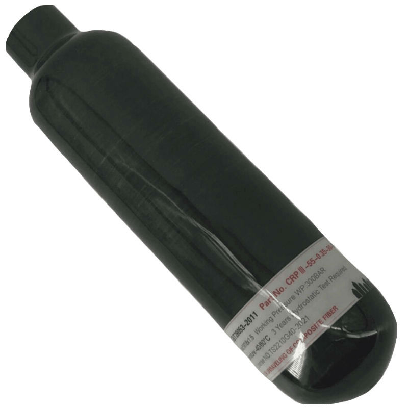 AC3035 PCP Rifle Paintball Use 0.35L 4500PSI 30Mpa Gas Cylinder High Pressure Carbon Fiber Air Tank For Hunting Acecare