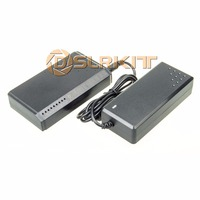 DSLRKIT 72W 8 Ports 6 PoE Injector Power Over Ethernet Switch 48V 2A PMID6P2U