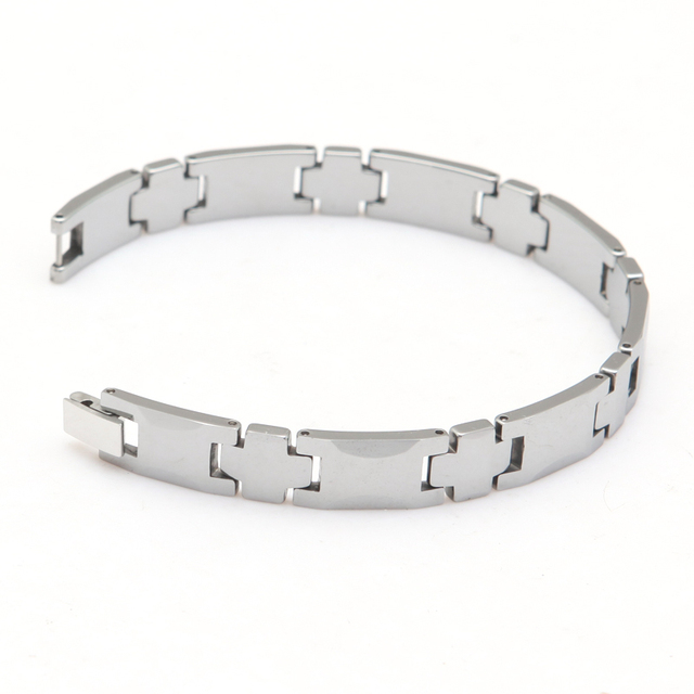 tungsten carbide bracelet Man's Jewelry Bracelet Tungsten Bracelet Length 21cm Width 1cm Thickness 3mm Weight 60g