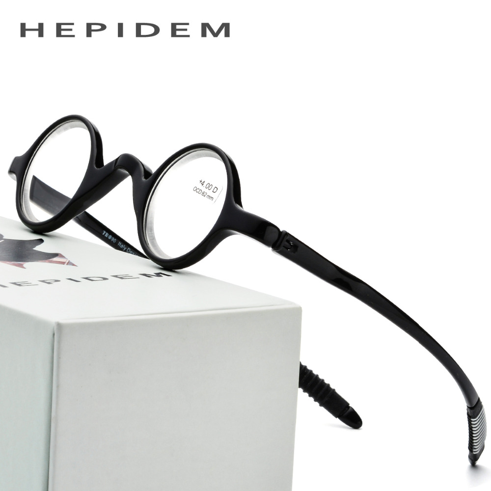 Thin TR90 Reading Glasses Men Ultralight Small Round Women Hyperopia Presbyopic +1.00 +1.50 +2.00 +2.50 +3.00 +4.00