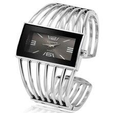 28d8d4ab28 Women's Watches Bangle Bracelet Quartz Watch Women Silver Wrist Watch Rose  Gold Quality Ladies Clock reloj