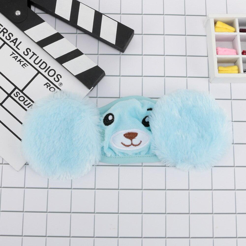 1 Pcs Kreative Kinder 2 In 1 Cartoon Mund Maske Schützen Ohren Ohrenschützer Maske Winddicht Anti-nebel Weichen Mund Gesicht Maske