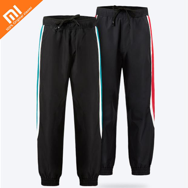 Xiaomi mijia ULEEMARK men's color trend sports trousers 100% polyester windproof warm autumn and winter men trousers Smart home