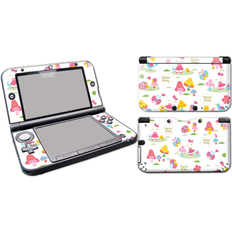 Free Drop Shipping Customized Protective Decal Vinyl Stickers For 3DSLLXL Skin Sticker