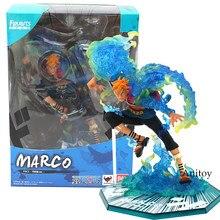 Anime uma peça marco pvc figura de ação collectible modelo brinquedo 18cm