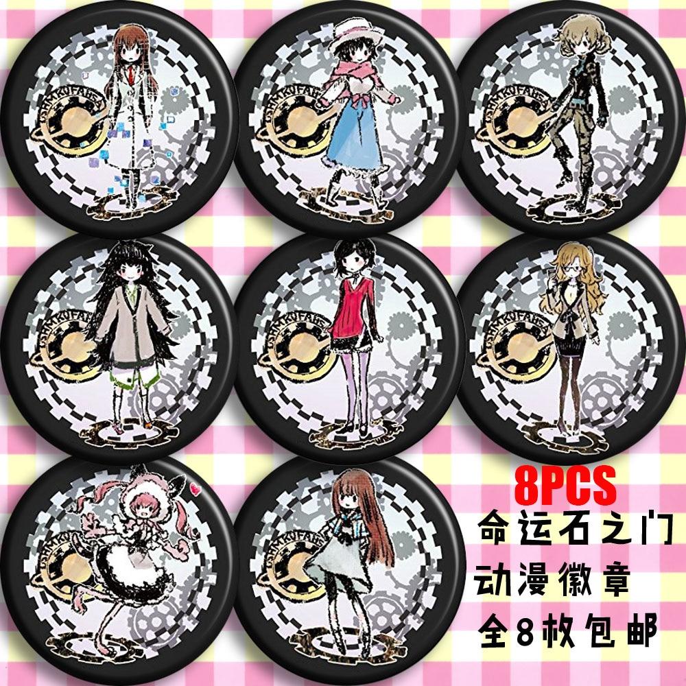 Anime GIVEN Sato Mafuyu Kaji Akihiko Cosplay Badge Button Brooch Pin Bedge 12Pcs