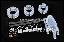 Free shipping Male penis lock silicone MALE Chastity device cage CB6000 sex toy