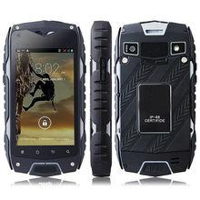 2500 мАч Батарея IP68 водонепроницаемый jeep Z6 мобильный телефон 4.0 дюймов Сенсорный экран Dual Core 1.3 ГГц 512 МБ 4 ГБ GPS WI-FI черный