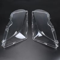 Clear Right Left Car Housing Headlight Lens Shell Cover Lamp Assembly For BMW E46 2001 2005