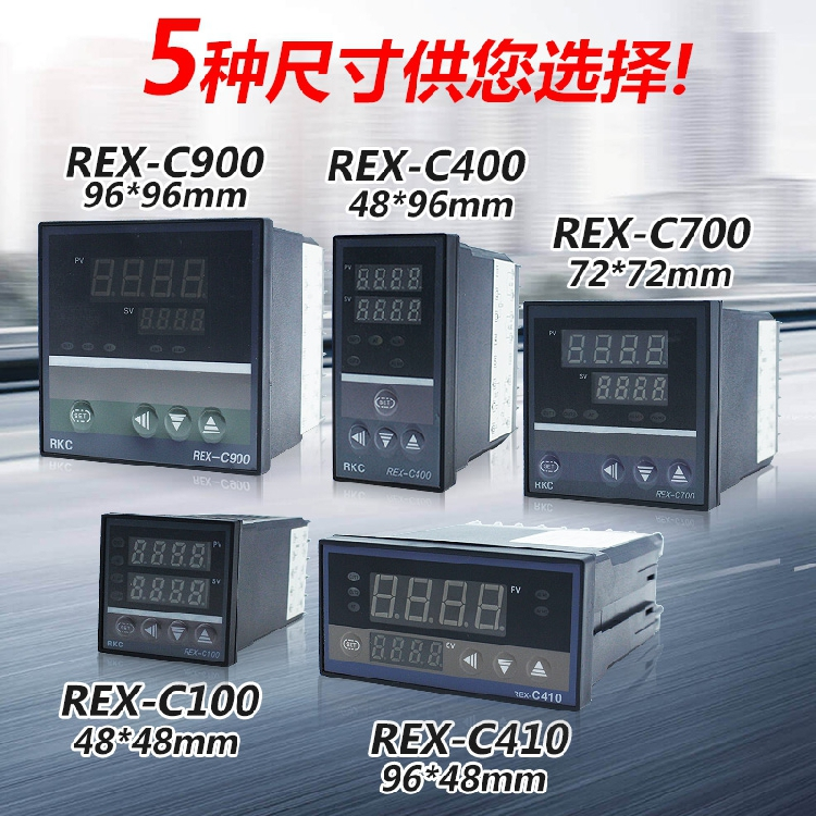 <font><b>REX</b></font>-C100 C400 C700 <font><b>C900</b></font> Intelligent Digital Display Temperature Controller <font><b>PID</b></font> Temperature Controller 220V image