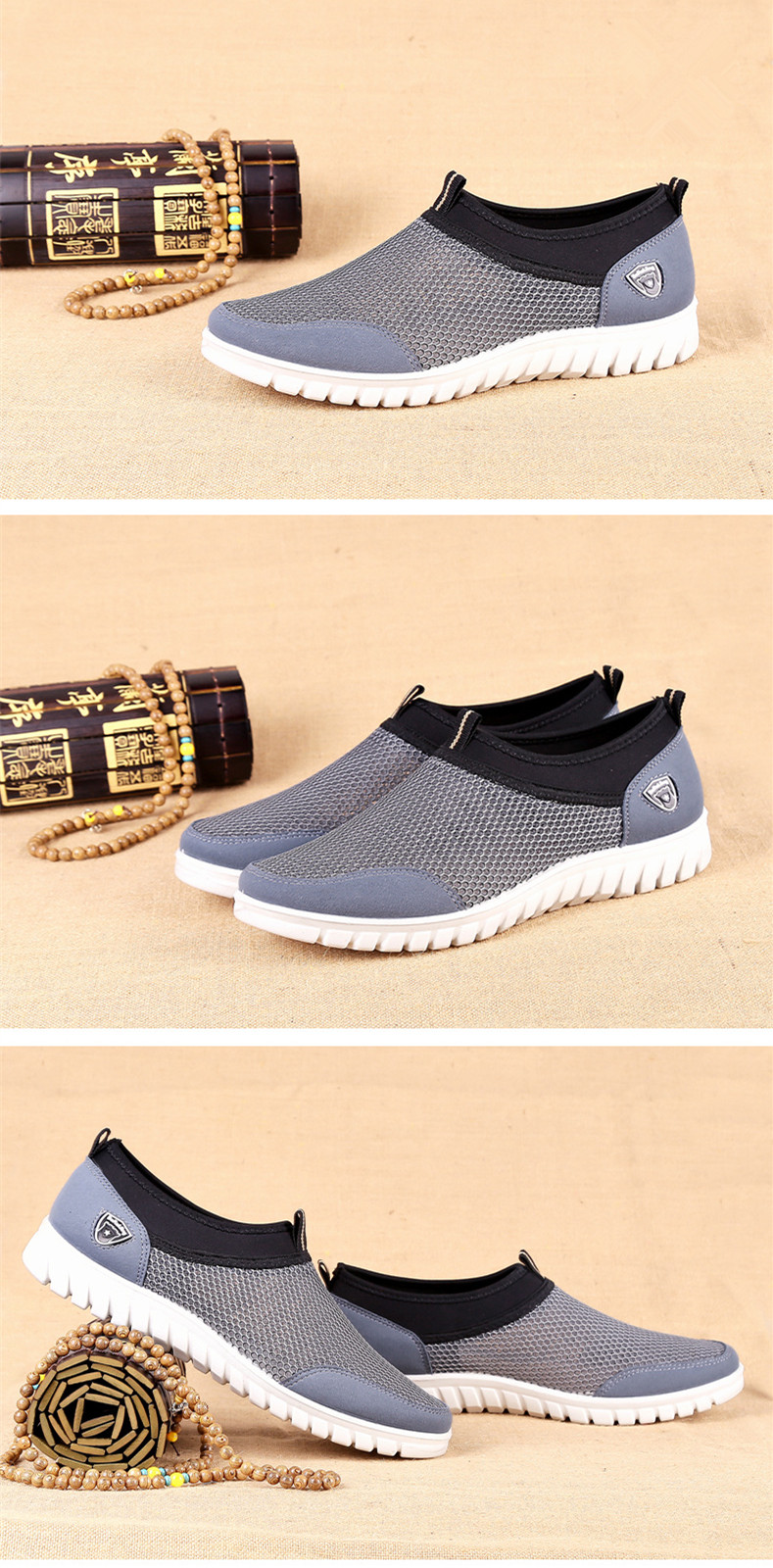 HTB1J.ppRsfpK1RjSZFOq6y6nFXa4 Summer Mesh Shoe Sneakers For Men Shoes Breathable Men's Casual Shoes Slip-On Male Shoes Loafers Casual Walking 38-48