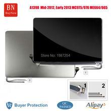 For 15″ MacBook Pro FULL Retina Display Assembly LED LCD Screen A1398 MC975 MC976