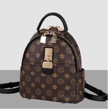 Новинка 2017 Европа и США большой ретро сумка Женская мода цветы элегантные модные дамы рюкзак дорожная сумка