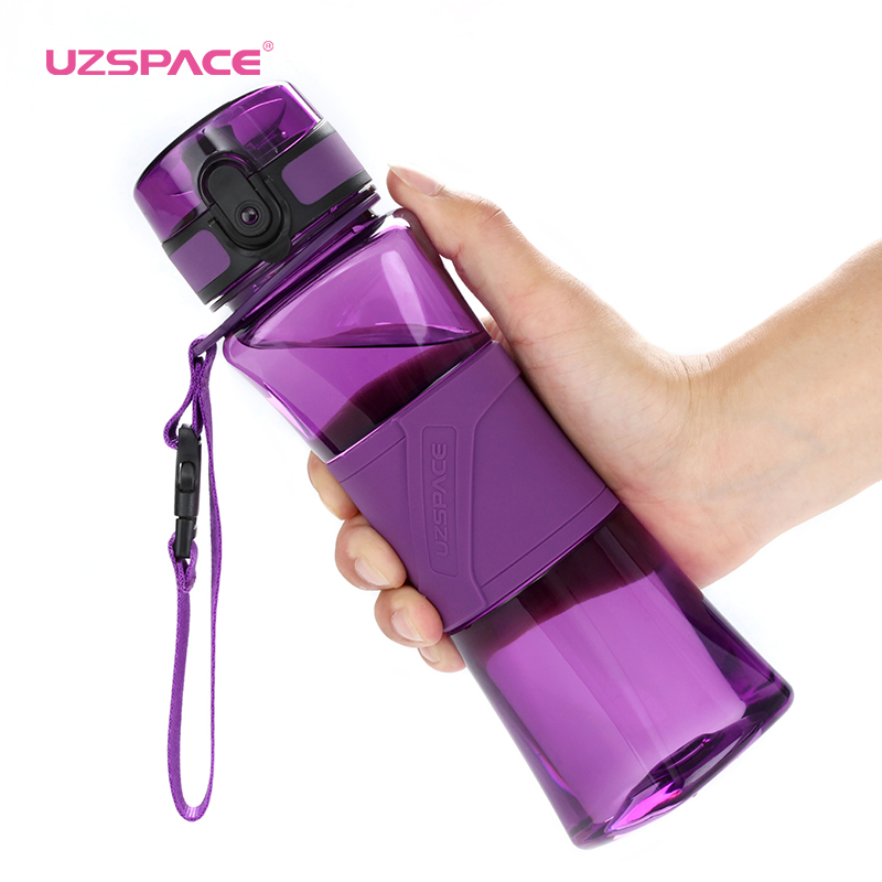 Water Bottle Protein Shaker Creative 6 Colors Sports Camp Tour Gym My Drink Bottle 350/500ml Portable Plastic Drinkware BPA Free