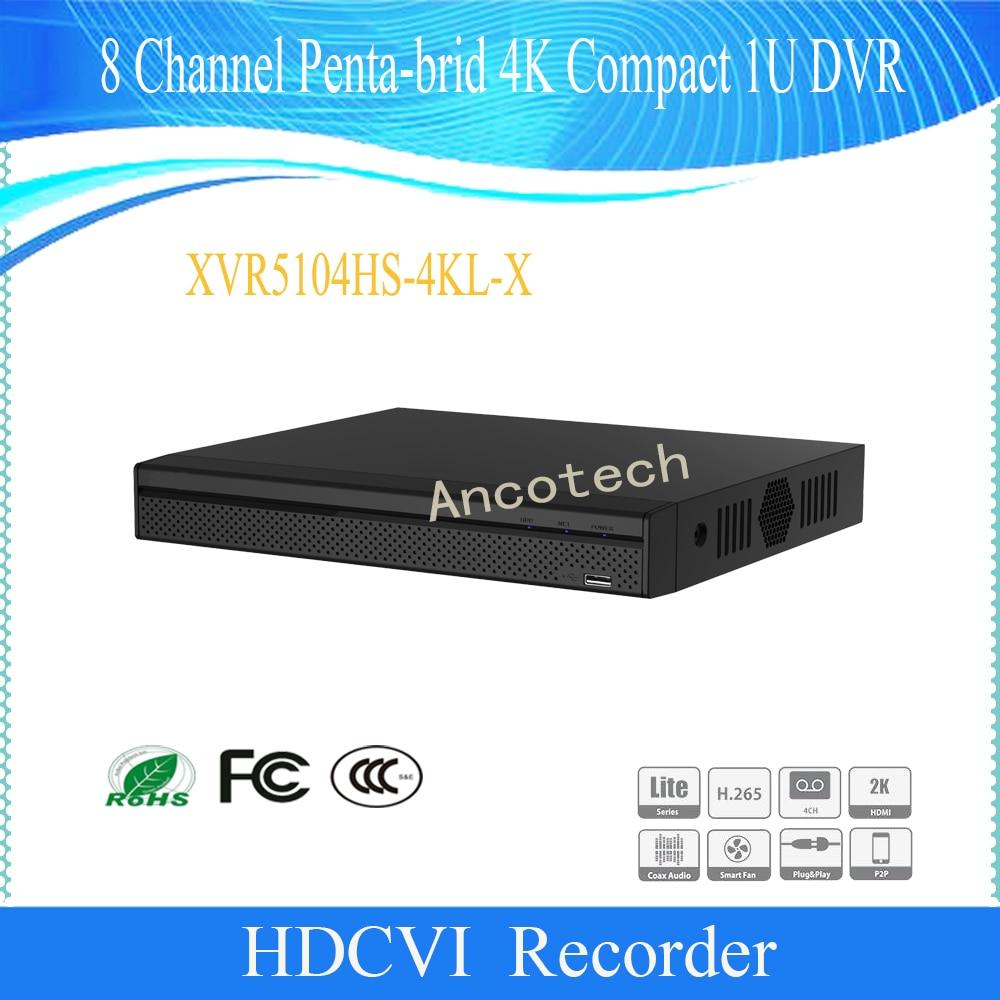 Original English Version CCTV DAHUA 4Ch Security Penta-brid H.265 H.264 4K Compact 1U DVR DH-XVR5104HS-4KL-XOriginal English Version CCTV DAHUA 4Ch Security Penta-brid H.265 H.264 4K Compact 1U DVR DH-XVR5104HS-4KL-X