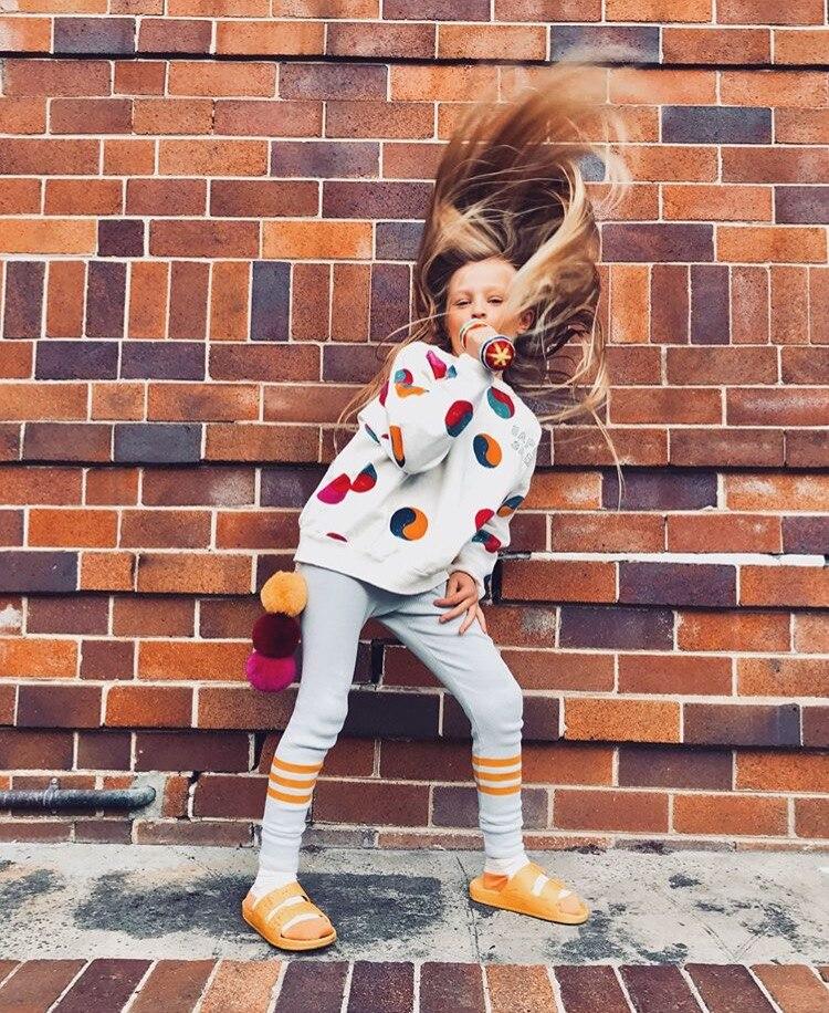 Bobo Choses Autumn Winter Kids Clothes Long Sleeve T-shirt Cartoon Animal Boys Sweatshirts Baby Girls Sports Tees Tops #3