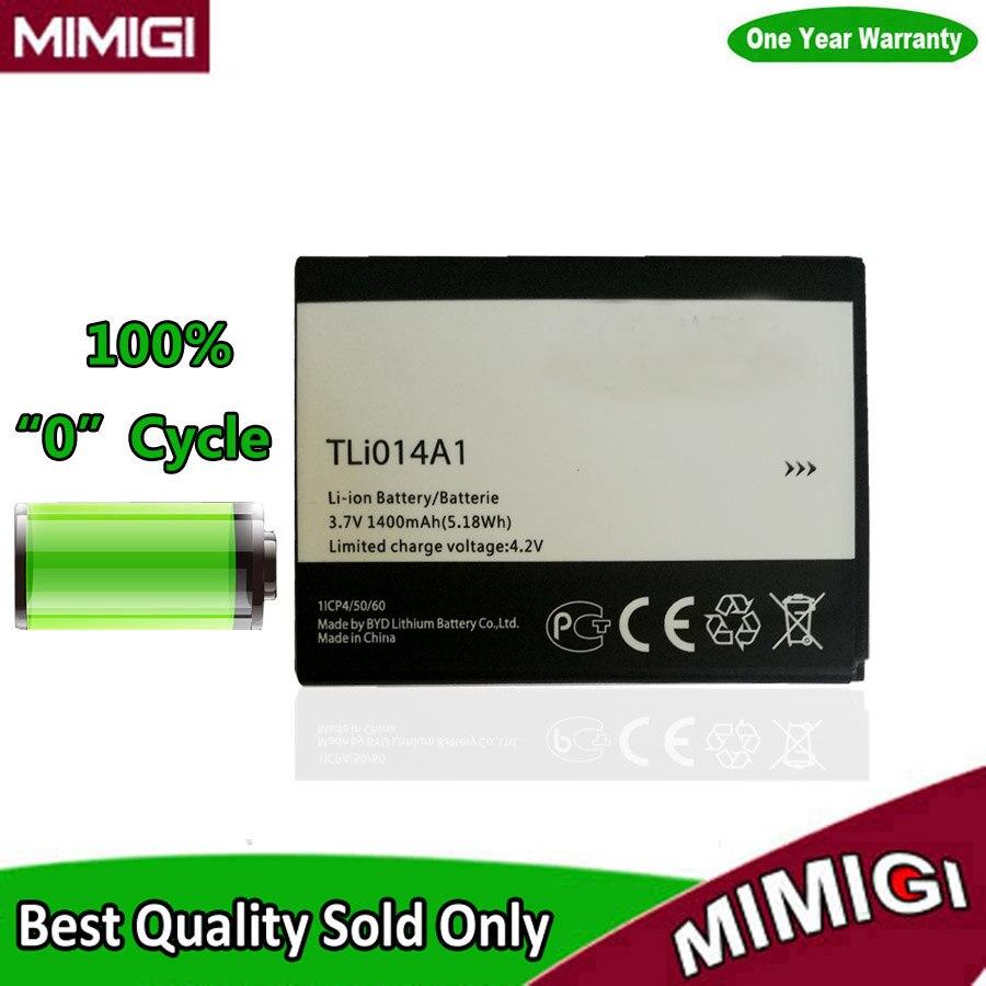 1400mAh TLi014A1 Battery For Alcatel 5020 5020D fire 4012 4012A 4012X 4007D Pixi 3 4027 4027D 4027X 4010 4010D Mobile Phone AKKU