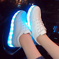 HOT LED Shoes Multicolor 2017 Chaussures Unisex USB Charging Lights shoes Emitting Luminous Casual Shoe Women Couple Shoes G168