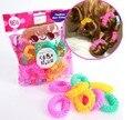 14 Unids/lote 2014 Moda de Nueva Llegada Donas Afortunados Pelo Rizado Rizos Roller Hair Styling Herramientas Herramienta de Pelo Para Las Mujeres