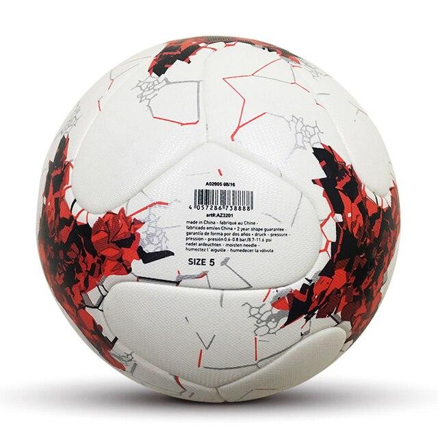 Tamaño oficial 5 PU pelota de fútbol Soccer League campeón 2018 deportes  competencia entrenamiento bola pelota 47bfede7cbe92