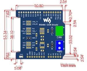 Image 3 - Arduino UNO NUCLEO XNUCLEO Leonardo RS485 CAN Shield Genişletilmiş Baskı