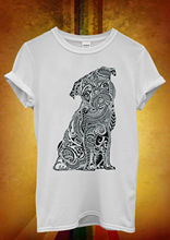 Ethnic Pug Cute Dog Animal Funny Men Women Unisex T Shirt Top Vest 1176 New Shirts Tops Tee
