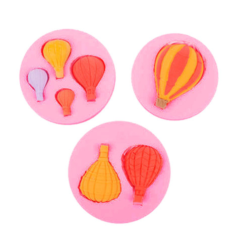 Dropshipping 3D Hot Air Balloon Silicone Cake Fondant Mold Soap Chocolate Mould Cake Decor Lahore