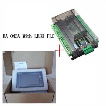 Samkoon EA-043A ичм Сенсорный экран 4,3 дюйма + FX3U серии ПЛК промышленного управления доска с DB9 Связь линии