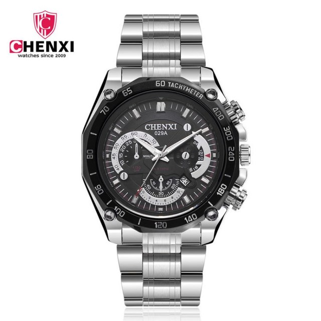 CHENXI Men Top Luxury Brand Watches Quartz Mens Watches Fashion Car Design Military Sports Complete Calendar Watches PENGNATATE