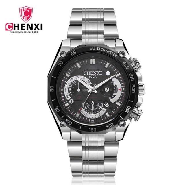 CHENXI Men Top Luxury Brand Watches Quartz Mens Watches Fashion Car Design Military Sports Complete Calendar Watches PENGNATATE