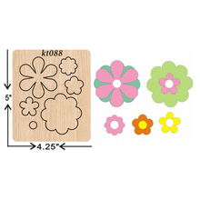 flower cutting dies 2019 new die cut &wooden Suitable  for common machines on the market