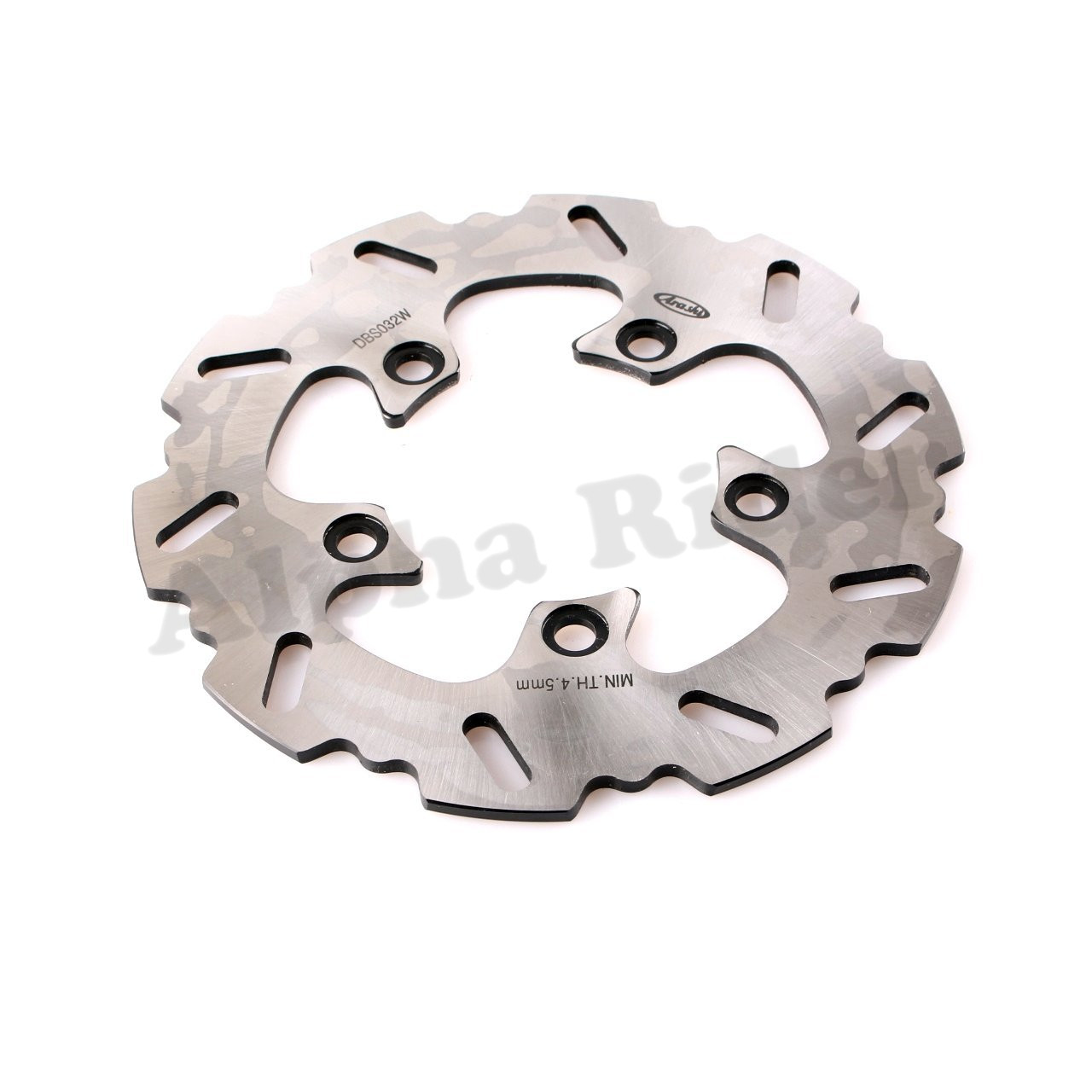 1 Pcs Motorcycle Steel Rear Brake Rotor Disc Braking Disk for Suzuki SV 650/S 2003-2009 SV 1000/S 2003-2007 TL 1000R/S 1998-2001 1 pcs motorcycle rear brake rotor disc steel braking disk for honda cbr1100xx 1997 2004 xlv1000 varadero abs 2004 2007 2010 2011