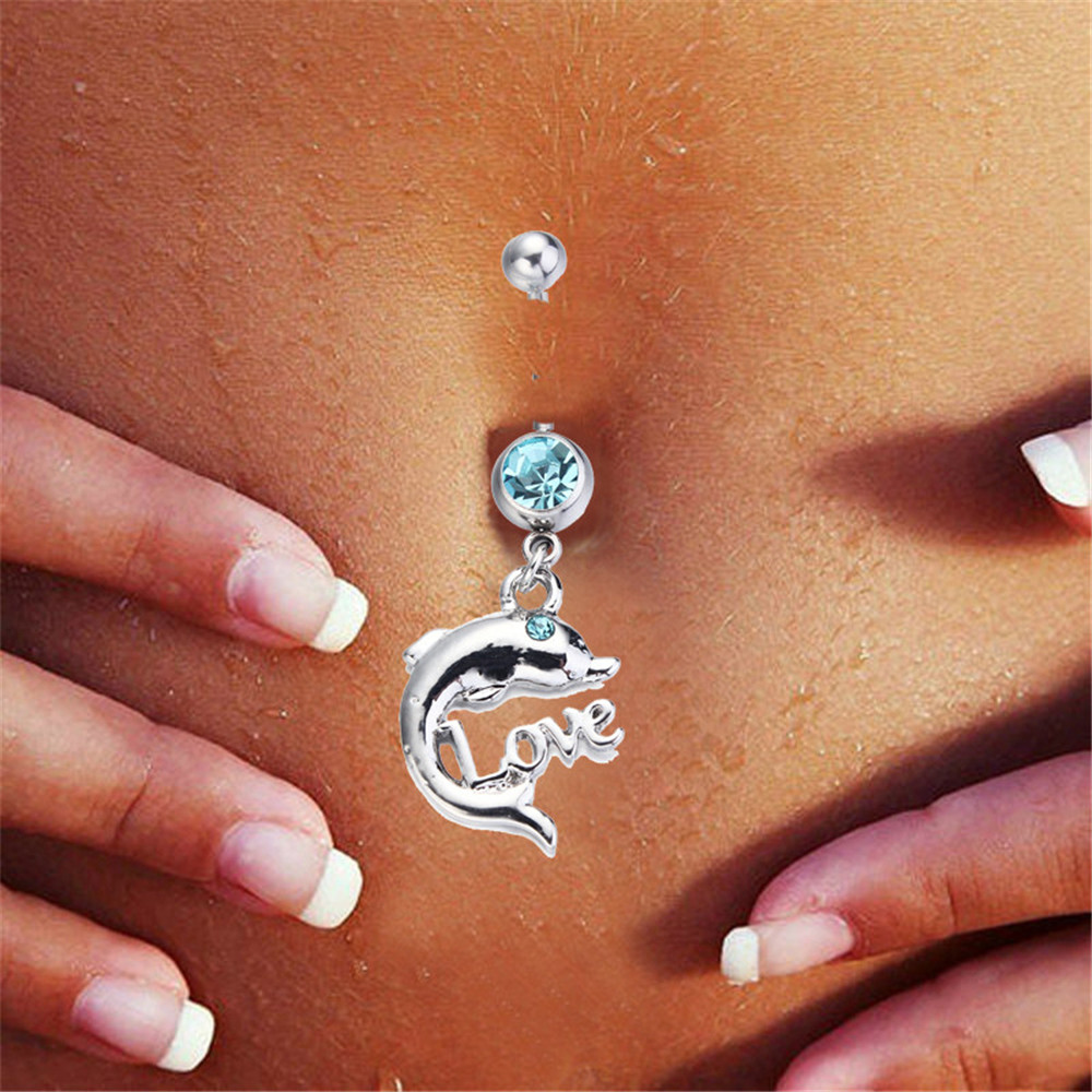 kawaii for rings belly alibaba dolphin ombligo navel aliexpress dangle jewelry com body women piercing lovely letters love ring item naval on group
