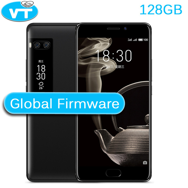 """Meizu Pro 7 плюс 6 ГБ 128 ГБ 4 г LTE MTK helio X30 Дека Core 5.7 """"2 К экран двойной Сзади 12.0 м Быстрая зарядка сотового телефона двойной Экран"""