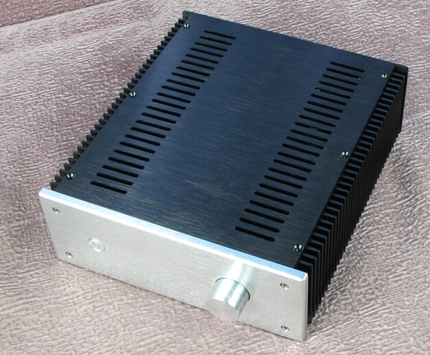 New 2409 aluminum heat on both sides of the chassis small A 10W amplifier stress-free thick substrate identification of best substrate for the production of phytase enzyme