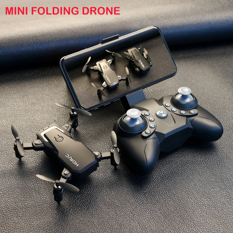 Upgraded D2 Foldable Mini Drone With RC Quadrocopter With Camera HD Quad-Counter With High Hold RC Helicopter With Headless Mode