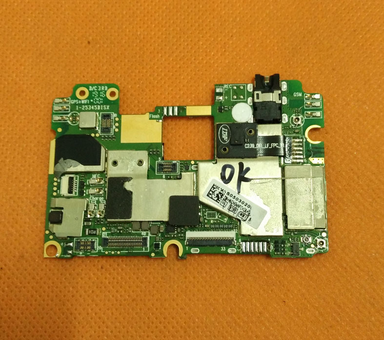 Used Original mainboard 4G RAM+32G ROM Motherboard for Elephone P9000 MT6755 Octa Core 5.5 FHD 1080*1920 Free shipping