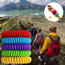 10pcs Mosquito Repellent Bracelets Pest Control Insect Protection Outdoor Indoor Anti-Mosquito Hand Strap for Adults Kids