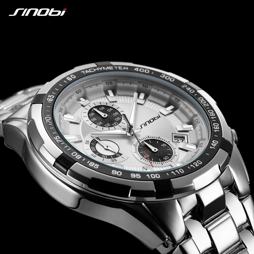 SINOBI Relojes Hombre Masculino Top Brand Luxury Business Quartz Wrist watch Chronograph Mens Watches Man Waterproof WristwatchSINOBI Relojes Hombre Masculino Top Brand Luxury Business Quartz Wrist watch Chronograph Mens Watches Man Waterproof Wristwatch
