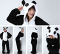 High Quality Flannel 2015 Men Women Unisex Adult Pajamas Cosplay Costume Animal Onesie Panda Sleepwear S M L XL