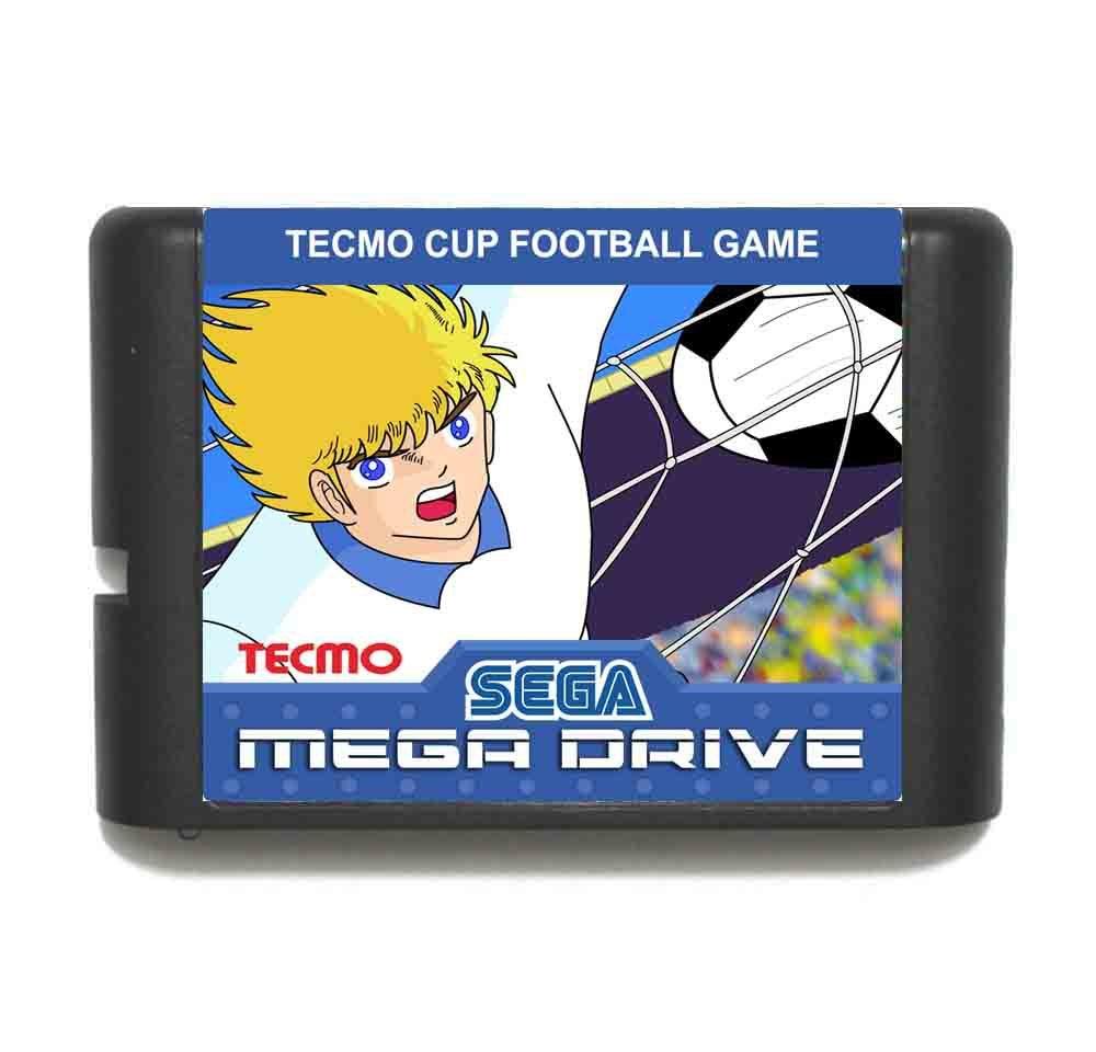 Tecmo Cup Football16 bit MD Game Card For Sega Mega Drive For Genesis