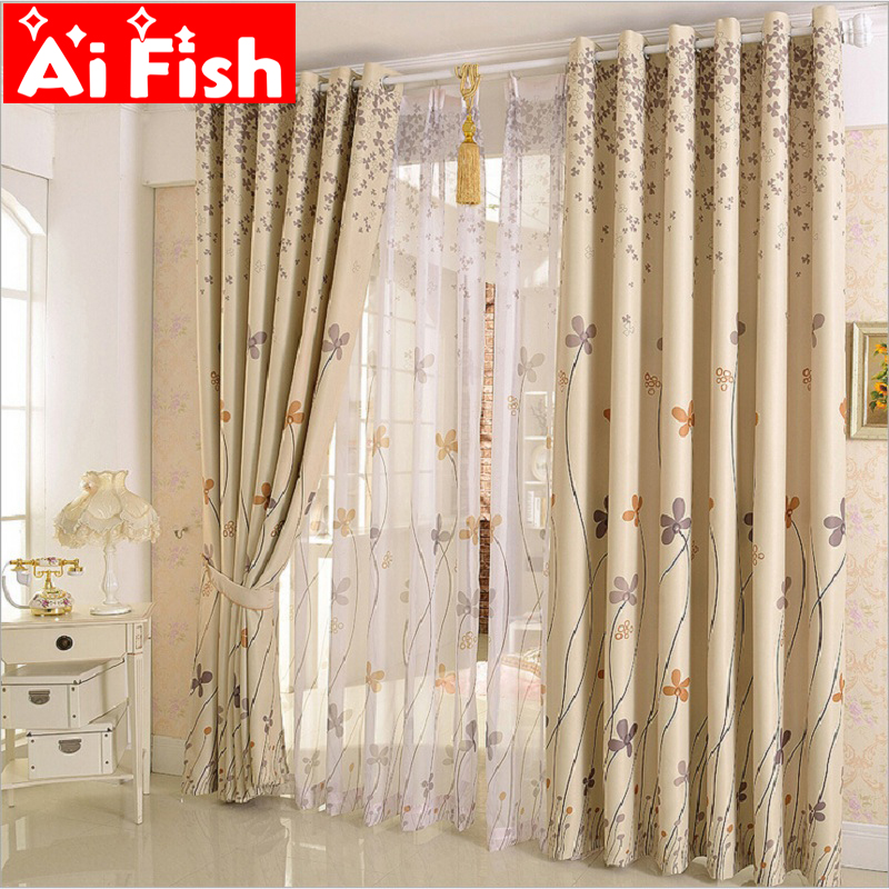 Rustic Window Treatment Drapes Clover Dandelion Design