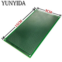 98-17 free shipping 1pcs 9x15cm  Double Side Prototype PCB Universal Printed Circuit Board