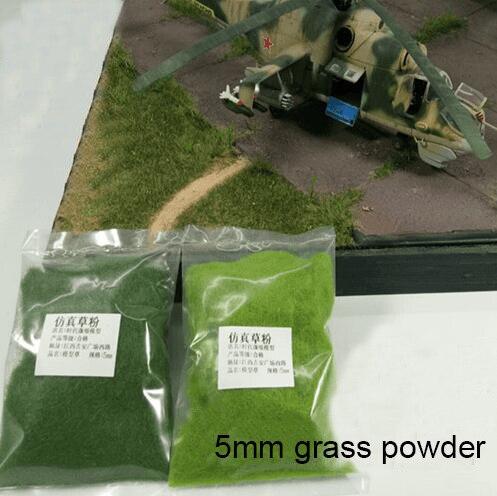 Model Grass Powder  Sand Table  Architectural Landscape  Scene Platform  Simulation Turf  DIY Handmade Materials  25g A Bag