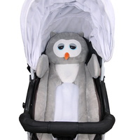 Baby Bed Mattress Adorable Cartoon Style Sleep Positioner Body Support for Infant Crib Stroller M09